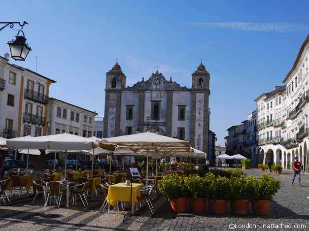 Evora Town Centre