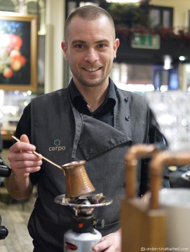 Greek Coffee at Carpo