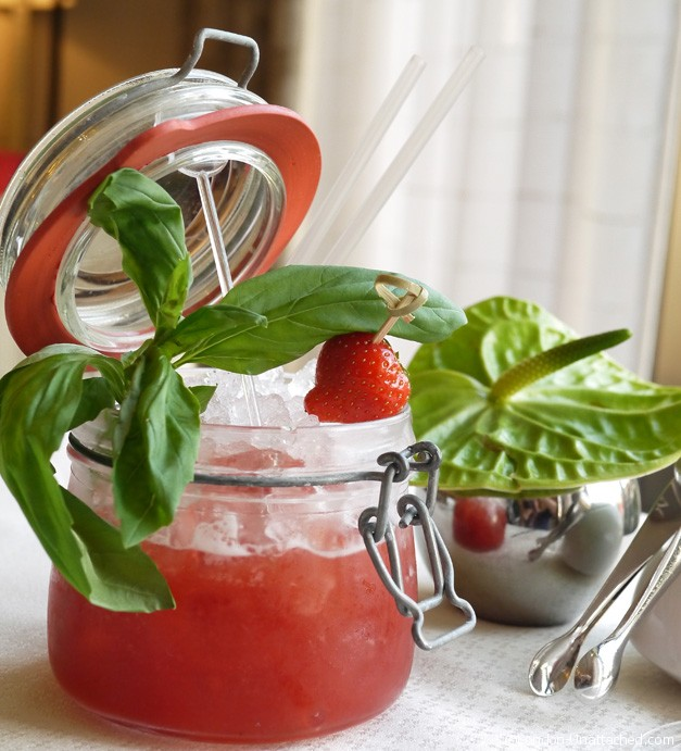 Intercontinental mocktail - jam jar