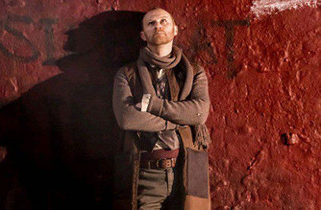 Mark Gatiss as Menenius - Coriolanus Donmar Warehouse