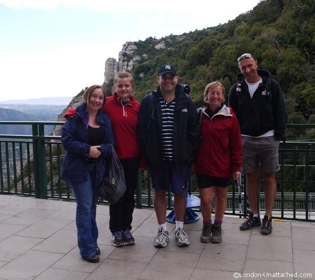 On top of Mt Montserrat