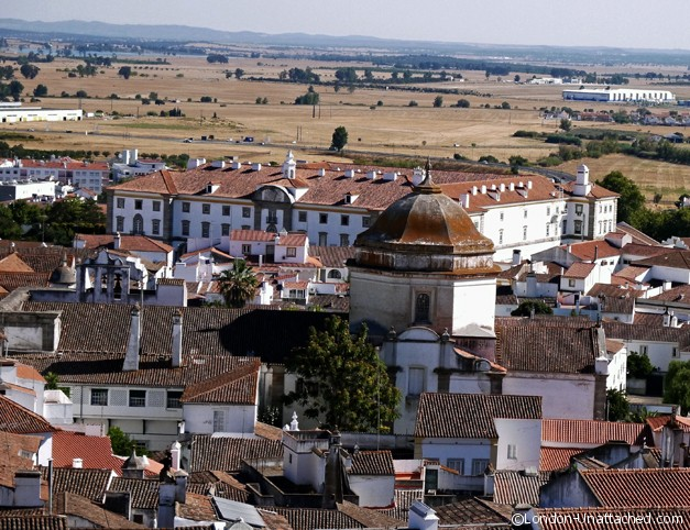 Rooftops of Evora