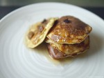 Rum and Raisin 3 ingredient Banana Pancakes