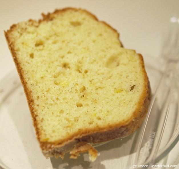 Spianata cake slice
