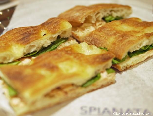 Spianata - sandwich