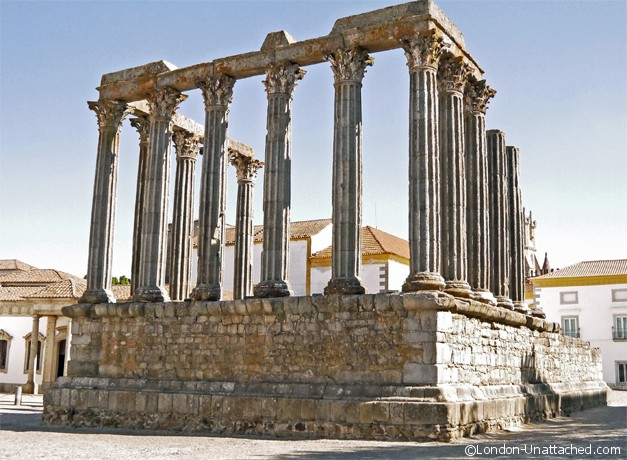 Temple of Diana - Evora
