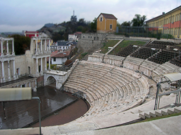 Theatre in Plodiv, Bulgaria copy