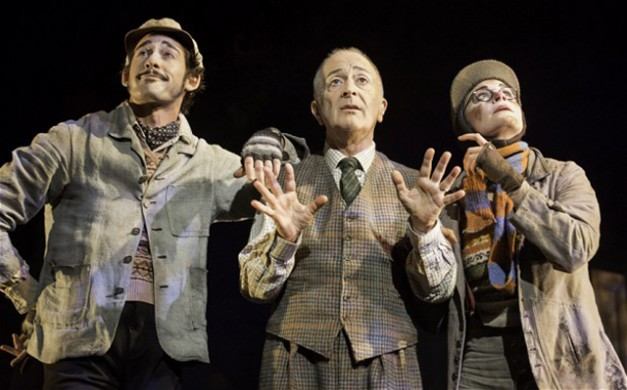 Will Kemp, Tony Robinson and Clemmie Sveaas - Wind in the Willows