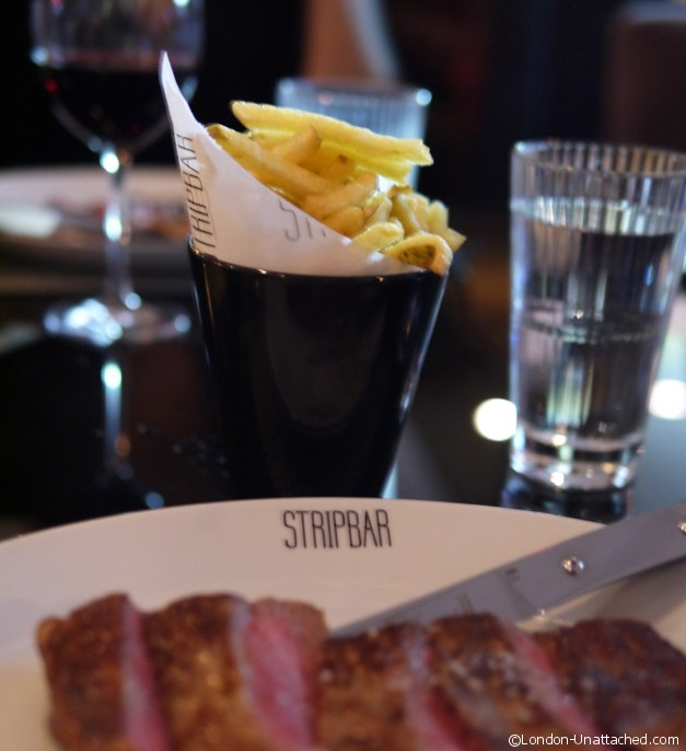 malmaison stripbar and steak - steak frites