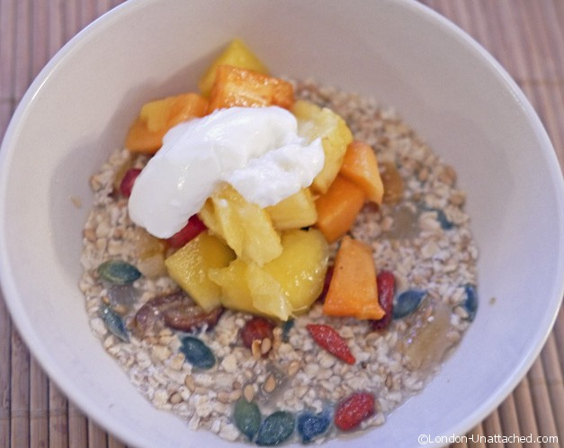 overnight muesli - boot camp breakfast