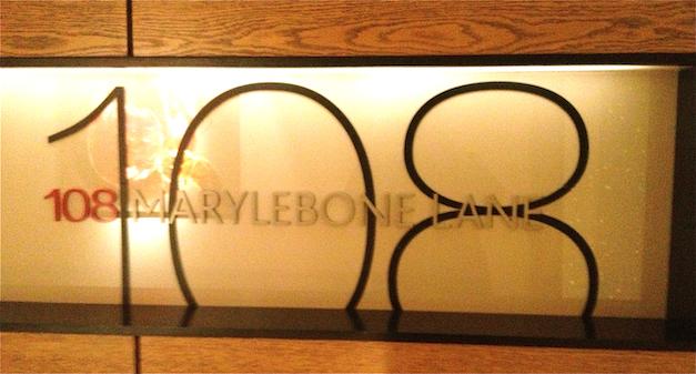 108 Marylebone Lane