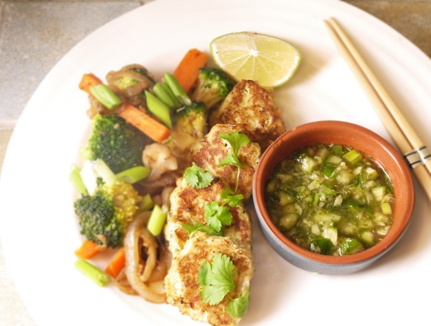 5:2 Diet Simple Thai Fishcakes