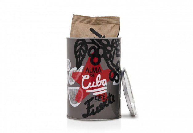 Alma de Cuba Coffee Tin