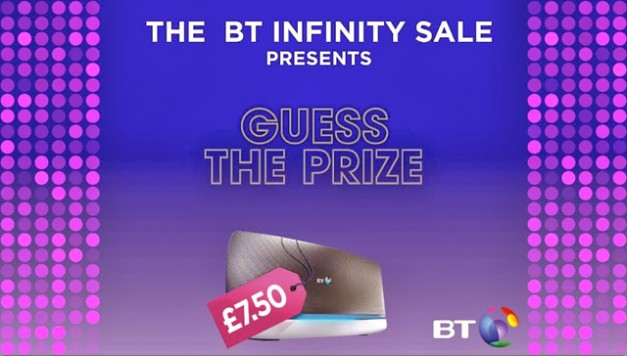 BT Infinity #GuessthePrize