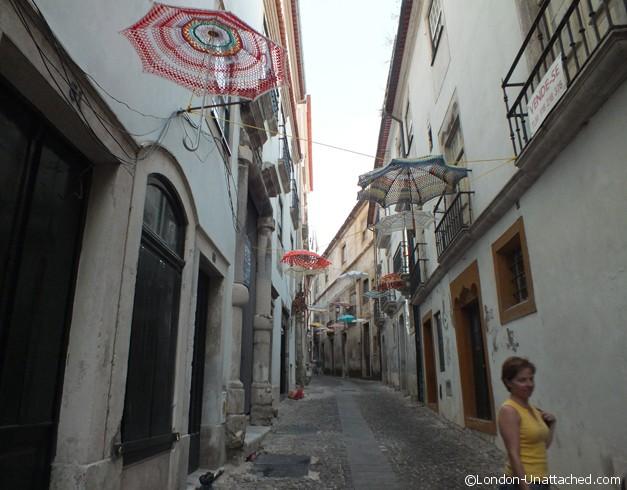 Coimbra Portugal - Umbrellas
