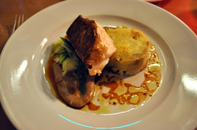 Fillet of Line Caught Cod - the Bull Hotel
