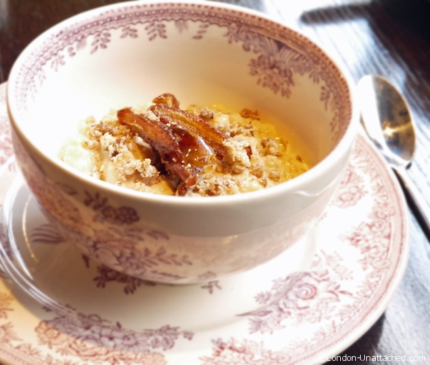 Gymkhana - chestnut and date kheer