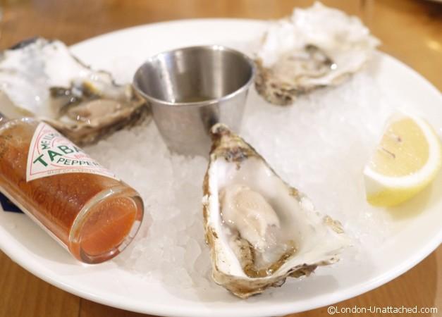 Loch fyne Henley - oysters