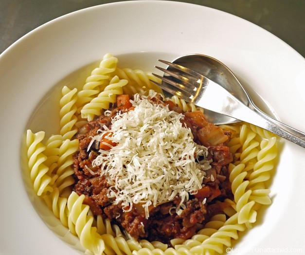 Quorn Bolognese - 5-2 Diet Recipe