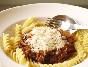 Quorn Bolognese for the 5-2 Diet