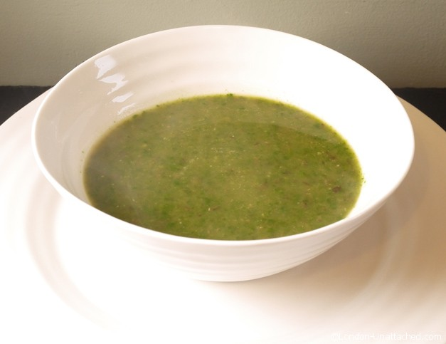 Spinach soup 5-2 diet recipe