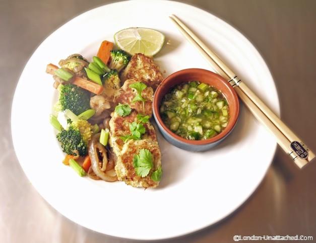 Thai Fishcakes for the 5:2 diet