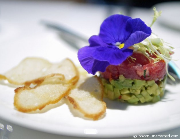 Tuna Tartare - Salad Kitchen Harrods