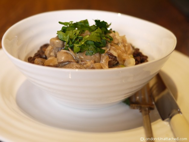 mushroom stroganoff 5-2 fast day diet recipe
