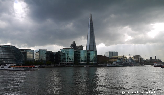 The Shard in Storm