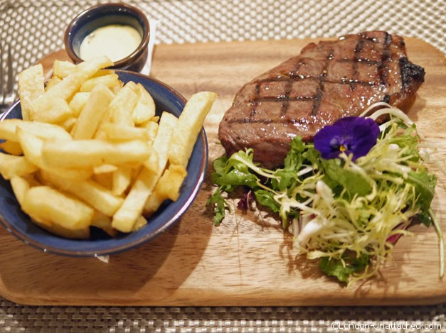 wildflower Cafe - steak and chips