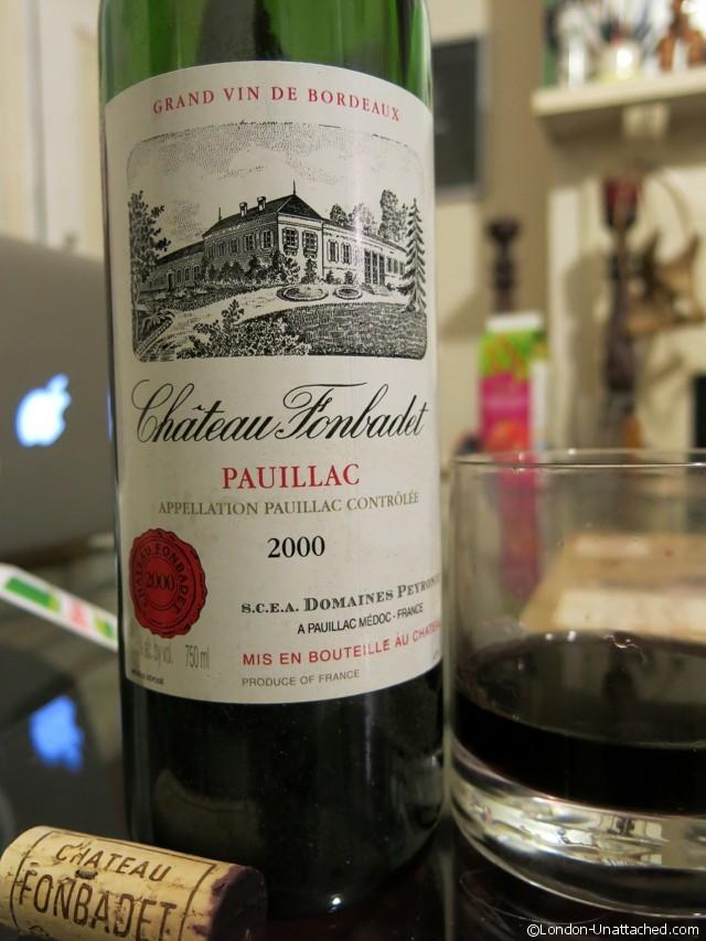 Chateau Fonbadet Pauillac 2000