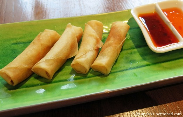 Chinese Cricket Club - Vegetable Spring Rolls