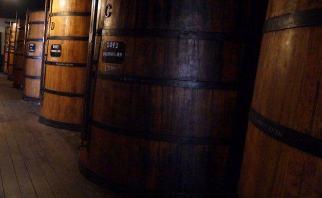 Madeira wine vats