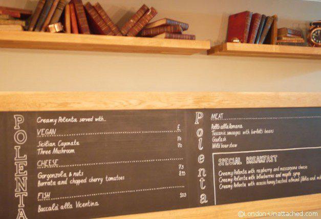 Polenteria Blackboard