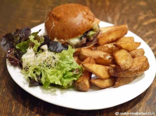 naked nosh burger and chips