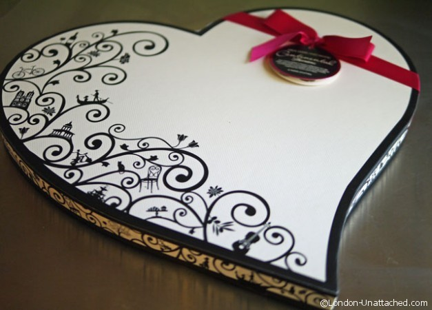 thorntons Valentines chocolates box