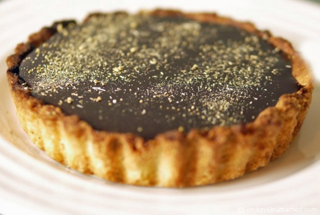 Chocolate, Orange and Fennel Pollen Flan