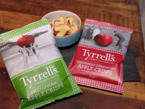 Degustabox Tyrrells Apple Chips