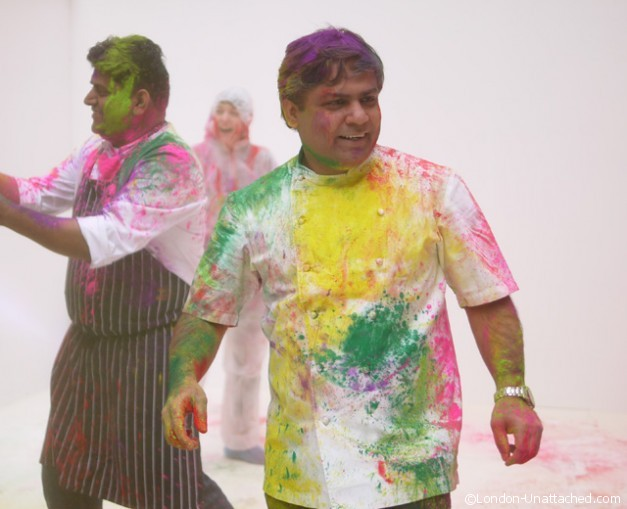 House of Holi Chefs Paint Party