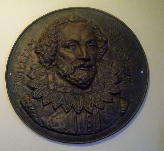 Shakespeare Hotel Wall plaque