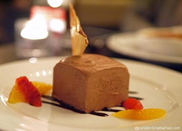 The Botanist Sloane Square London Chocolate Terrine