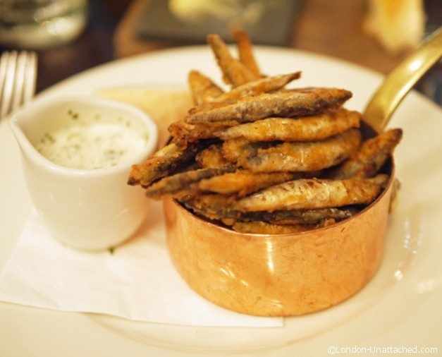 The botanist Sloane Square Whitebait