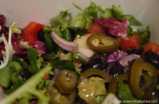 just eat salad
