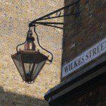 Eating London Tour - Street Light