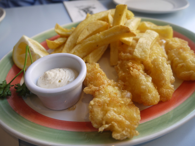 Eating London Tours - Poppies fish and chips