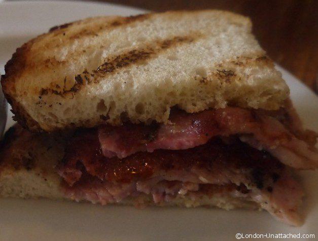 Eating London Walking Tour - St Johns Bacon Sandwich