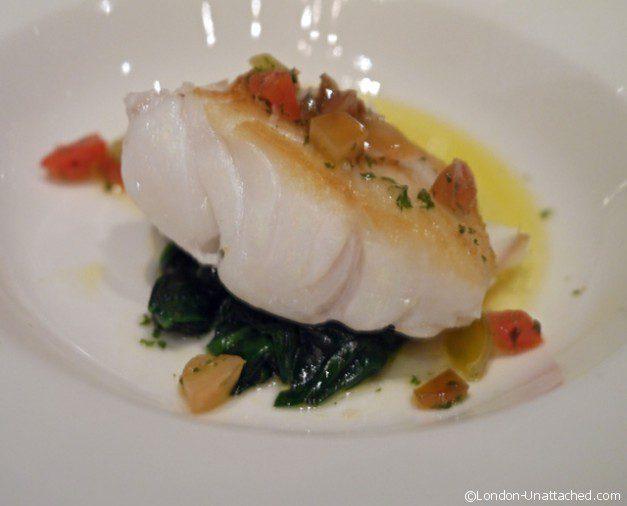 Fillet of Cod, Heritage Tomato - Kensington Hotel