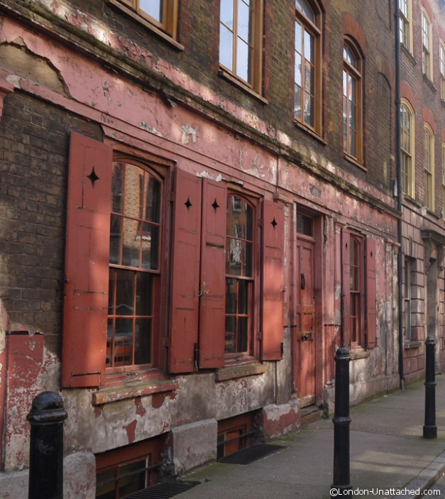 Huguenot merchants house spitalfields