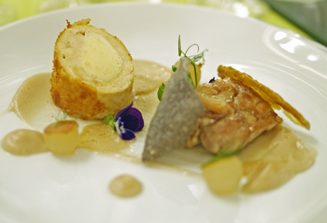Perrier Jouet Belle Epoque Chicken
