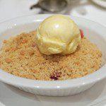 Ruby Plum Crumble - Kensington Hotel